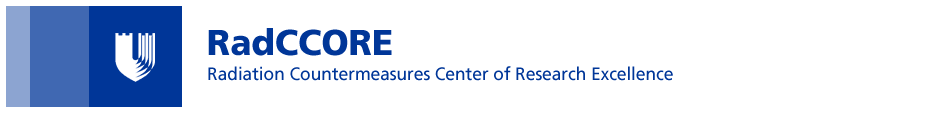 Radiation Countermeasures Centers of Research Excellence  (RadCCORE)  Home Page